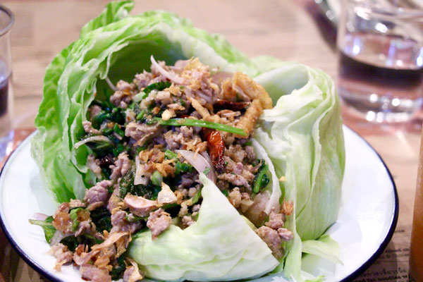 Samsen Hong Kong Wanchai chopped duck salad