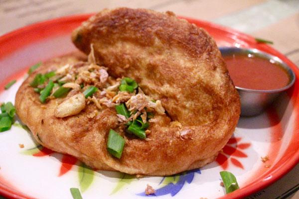 Samsen Hong Kong Thai omelet crabmeat