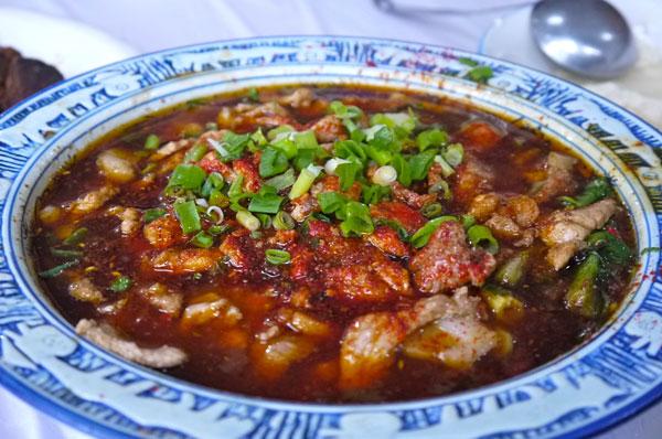 Chengdu chili hotpot